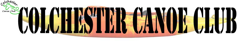 Colchester Canoe Club Header and link to home page